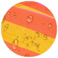 Sonrisa Mandarine - Wetterbeständiges Material