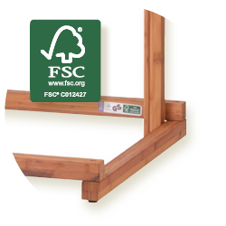 Yayita - FSC®-zertifiziertes Bambusholz