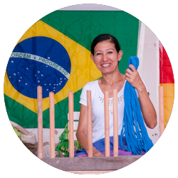 Copa Samurai Blue - Artigianato brasiliano