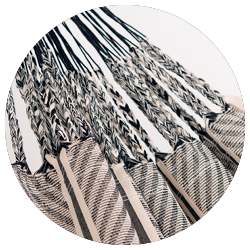 Flora Zebra - Viele Aufhängeschnüre