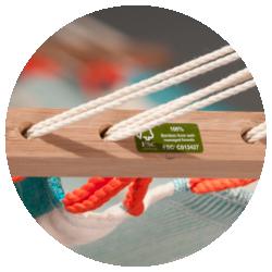 Colada Curaçao - Barra in legno di bambù certificato FSC®