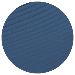 Alabama Navy Blue - Extra breed gevoerd ligvlak