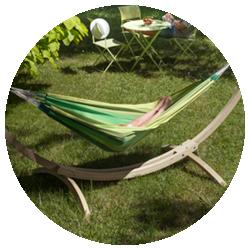 Canoa Caramel - Elegante houten standaard
