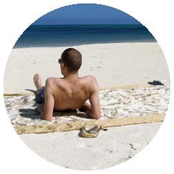 Colibri Camo Sahara - Doubles as a Picnic or Beach Blanket