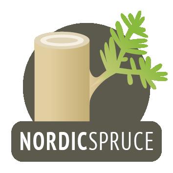 Bois d'épicéa de Scandinavie
