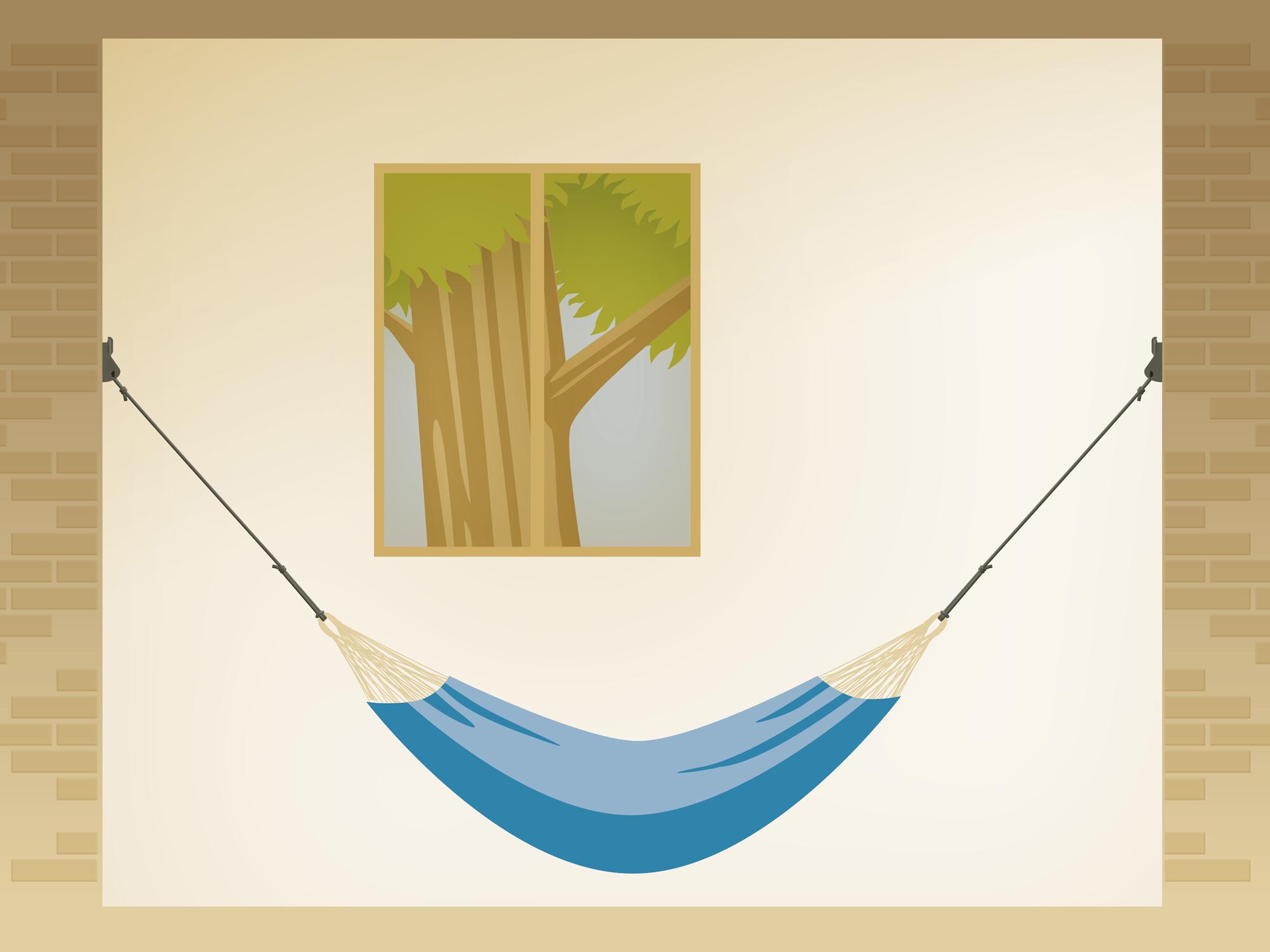 Hängematte aufhängen - Home Rope