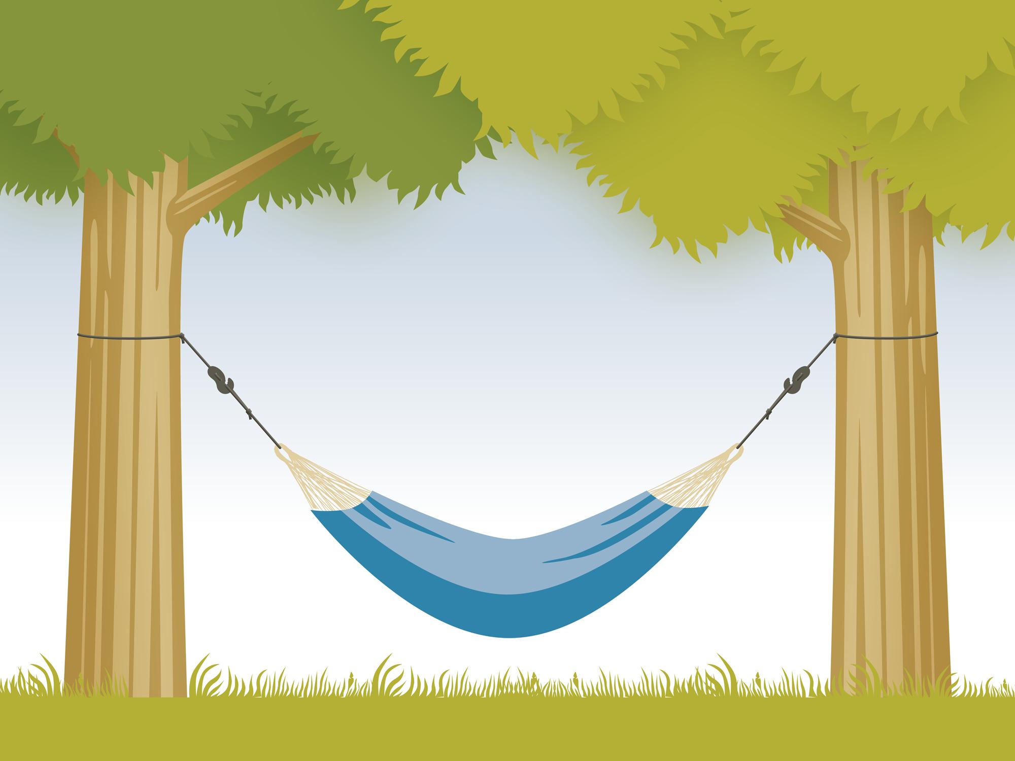 Hängematte aufhängen - Tree Rope